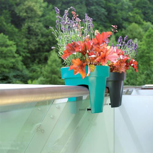 květináč na zábradlí Lofly