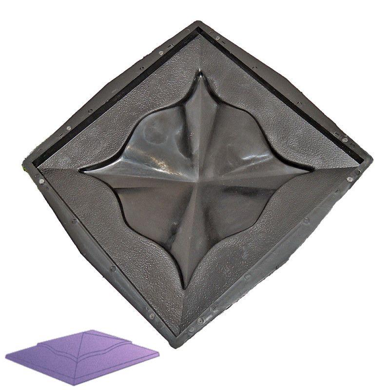 Forma na sloupovou stříšku - Hlavice H3 Ozdobná
