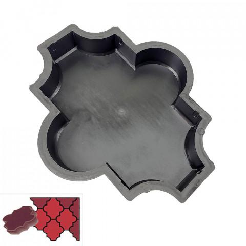Forma na zámkovou dlažbu - Baroko 4,5 cm