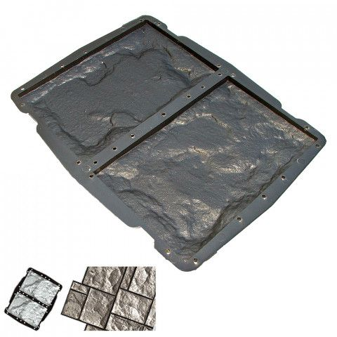 Forma na obklad - Štípaný kámen B5