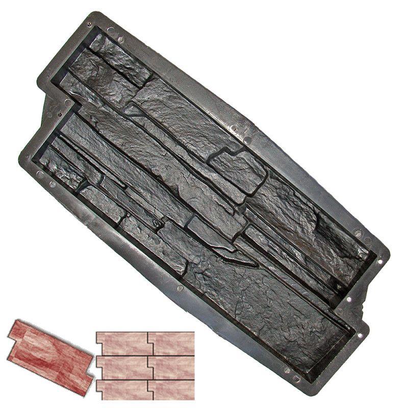 Forma na obklad - Skládaný kámen C2