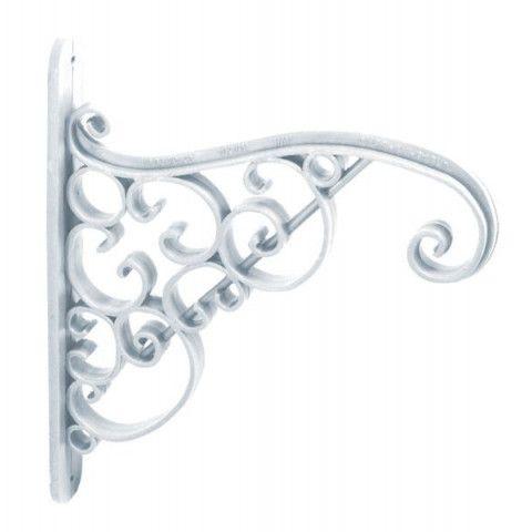 Držák na závěsný květináč - IWA bílý