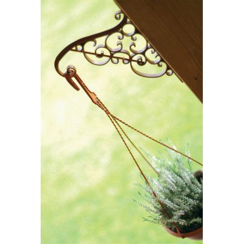 Držák na závěsný květináč - IWA terakota