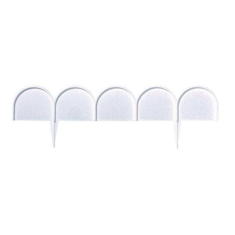 Obruba záhonů - Ikra 10 m bílá