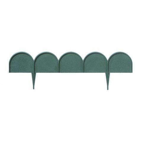 Obruba záhonů - Ikra 10 m zelená