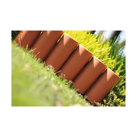 Zahradní palisáda - IPAL5 2,7 m terakota