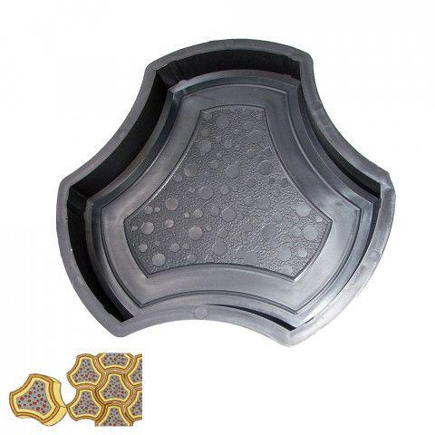 Forma na zámkovou dlažbu - Trojhran 4,5 cm