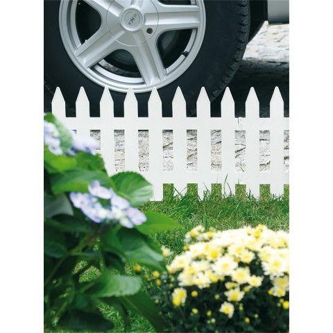 Zahradní plůtek - IPLSU 3,2 m bílý