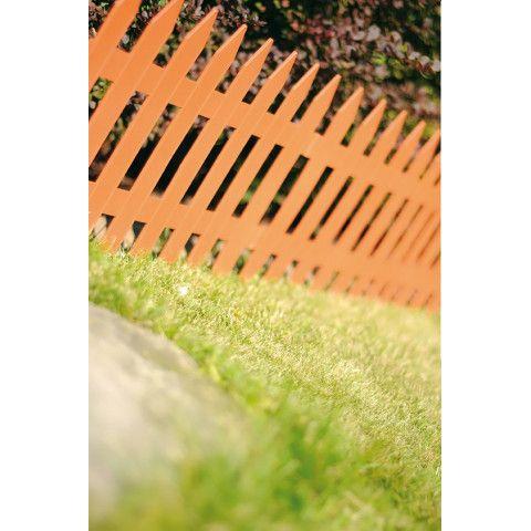 Zahradní plůtek - IPLSU 3,2 m terakota