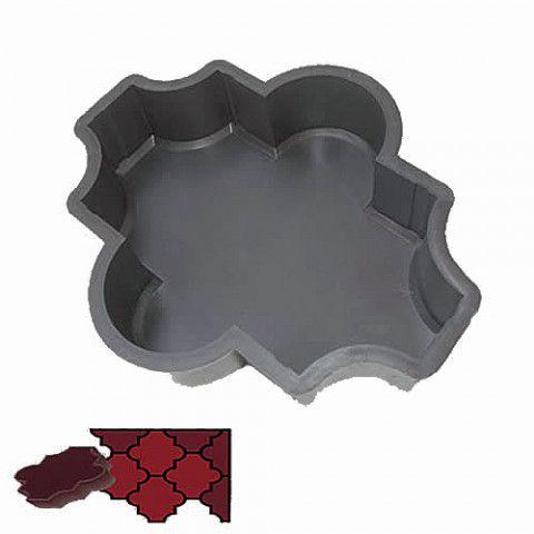 Forma na zámkovou dlažbu - Baroko 6 cm