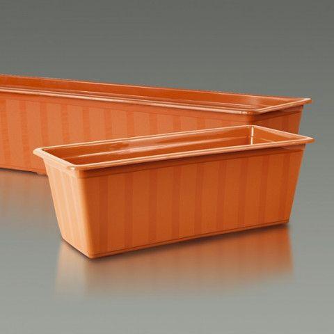 Samozavlažovací truhlík - Agro 60 cm terakota