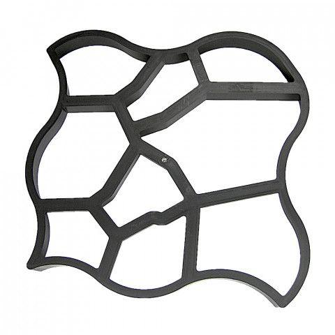 Mistr dlaždič - forma na betonové chodníky 61 x 61 x 6 cm