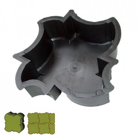 Forma na zámkovou dlažbu - List 6 cm