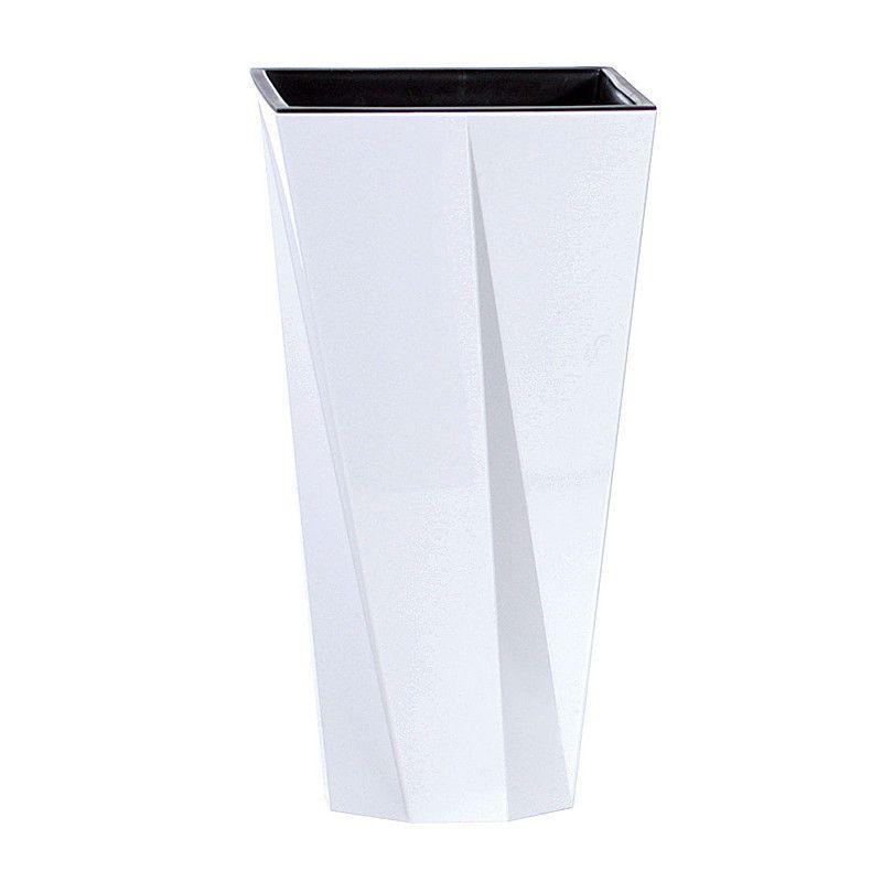 Květináč | Plastová váza - Urbi bílá