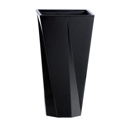 Květináč | Plastová váza - Urbi černá