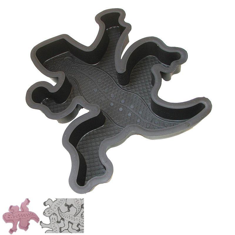 Forma na betonovou dlažbu - Ještěrka 5 cm