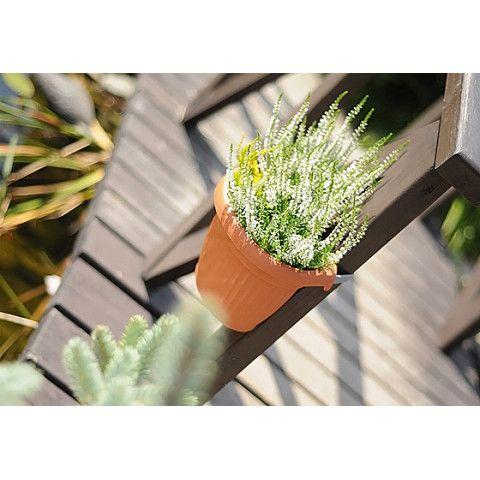 Květináč na okap - TERRA terakota