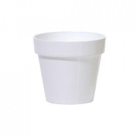 Květináč Cube Shine - bílý