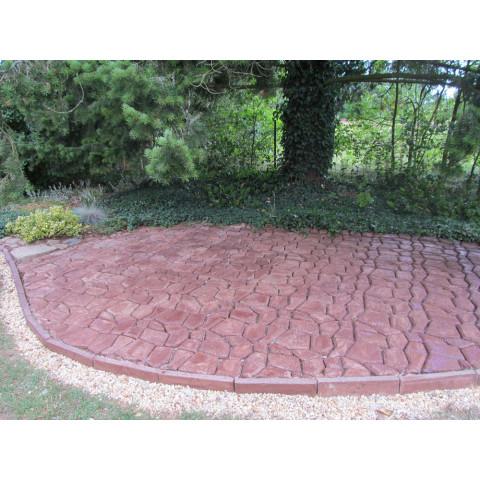 Mistr dlaždič - forma na betonové chodníky 60 x 60 cm