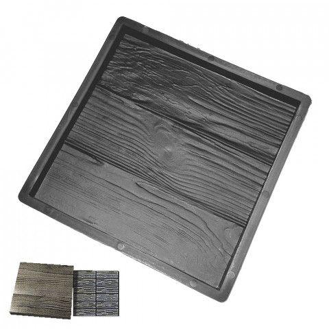 Forma na beton - Čtverec 300 Dřevo
