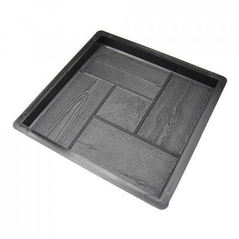 Forma na beton - Čtverec 300 Dřevo II
