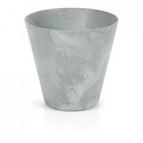 Květináč - TUBUS BETON šedý