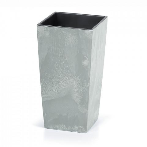 Vysoký květináč - URBI BETON šedý