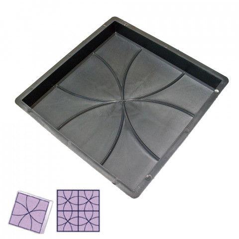 Forma na dlažbu - Čtverec 350 Elipsy