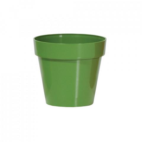 Květináč Cube Shine - zelená