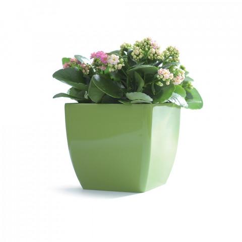 Obal na květináč hranatý - Coubi DUK olivový