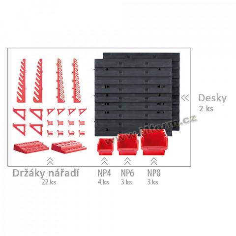 Organizér na šroubky - Orderline NTBNP4