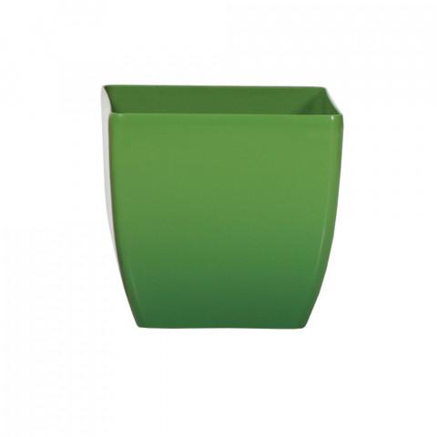 Obal na květináč hranatý - Coubi DUK zelený
