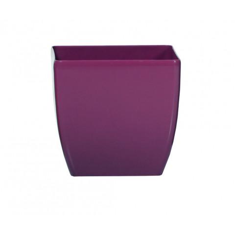 Obal na květináč hranatý - Coubi DUK fialový