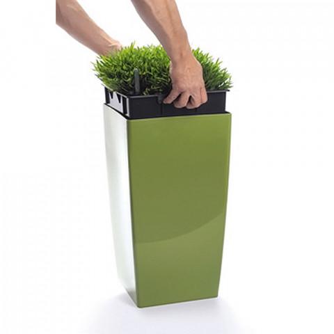Vysoký květináč - Coubi DUW olivový