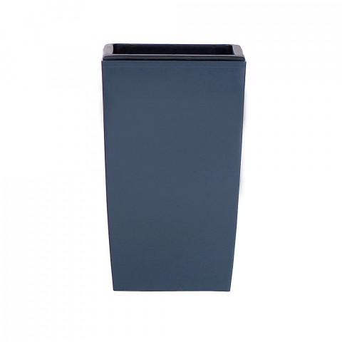 Vysoký květináč - Coubi DUW modrošedý