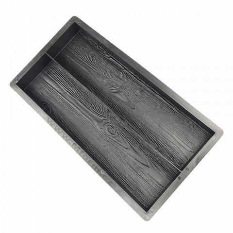 Forma na dlažbu - Dřevěné desky 2 v 1
