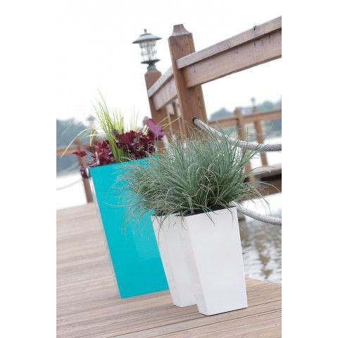 Vysoký květináč - Urbi limetka