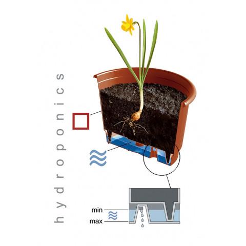 Závěsný květináč - TERRA terakota
