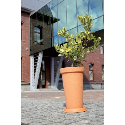 Podmiska pod květináč kulatá - MASSIVE terakota